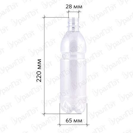 ПЭТ бутылка 0,5 л.