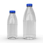 Молочная бутылка 0.5л. без крышки