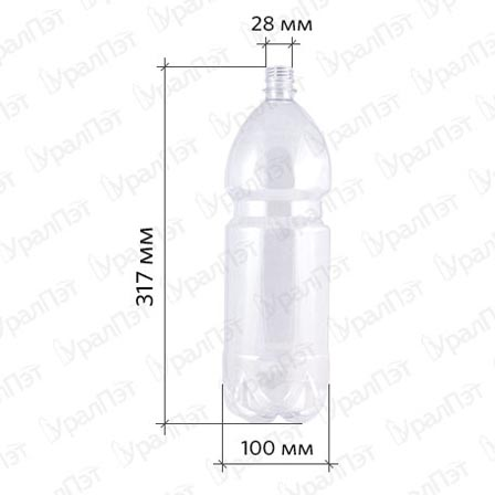 ПЭТ бутылка 2,0 л.