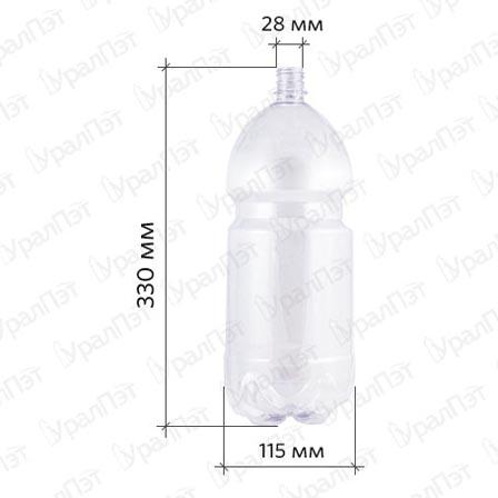 ПЭТ бутылка 3,0 л.