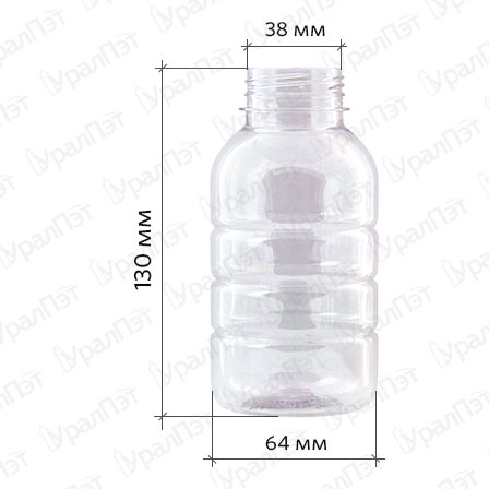 ПЭТ Бутылка 0,3 л. «Бочонок»